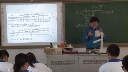 2015年江苏省高中物理优课评比《弹力》教学视频,殷文俊
