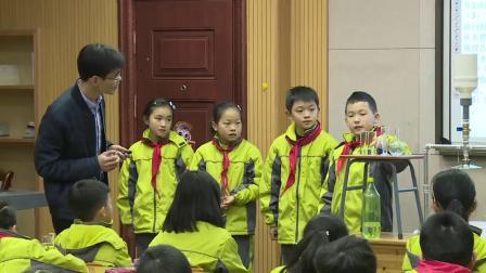 教科版小学科学四上《降水量的测量》课堂教学视频实录-潘伟锋
