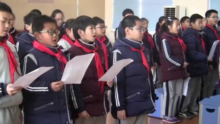 人音版六下第1课《花非花》课堂教学视频实录-张慧洁
