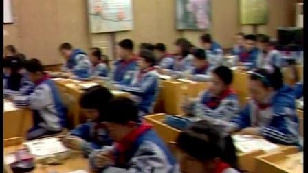 华师大版科学八上4.1《绿色开花植物的营养器官-叶》课堂实录教学视频-沙琦波