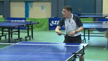 小学体育五年级《乒乓球反手攻球》课堂教学视频实录-马杨旭