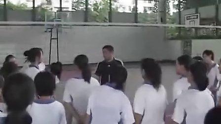初三体育排球练习教学视频严克非