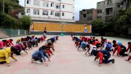 《田径-蹲踞式起跑》五年级体育,姜兰