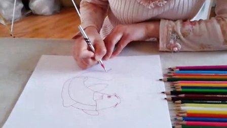 初中美术微课视频-八年级《画鱼》