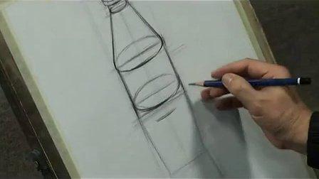 《静物素描的结构分析》高二美术教学视频-深大附中帅黎