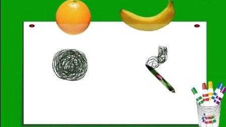 小学美术微课视频-湘版小学美术一年级上册《绕绕涂涂》