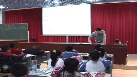 2015优质课视频《大鱼和小鱼》小学美术岭南版一年级-深圳-公明第二小学:许良