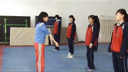 高中体育《二级徒手组合——反方向》北京市,2014学年度部级优课评选入围优质课教学视频