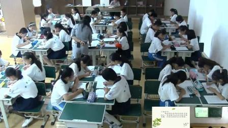 《习作-学写发言稿》人教版小学语文五下课堂实录-天津_西青区-陆希倩