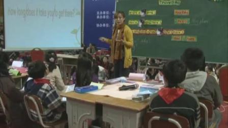 《Travelling》五年级英语-全国小学英语教学观摩研讨会-张燕燕