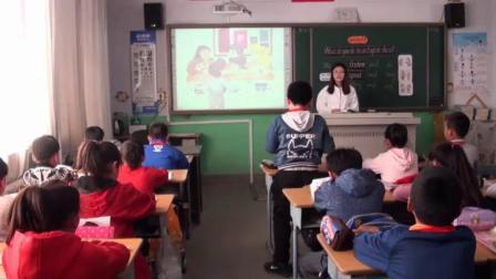 人教精通版小学英语四下《Lesson 17》课堂教学视频实录-王晶