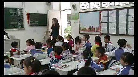 2015年《what do you hear》小学英语上海牛津版一年级教学视频-深圳-彩田学校:王晔