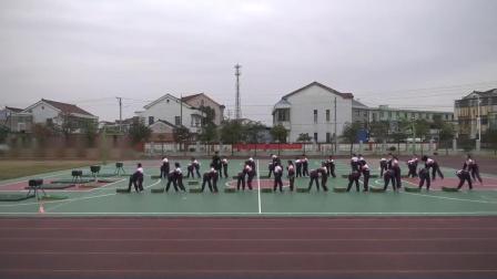 人教版体育五年级《支撑跳跃:山羊分腿腾越》课堂教学视频实录-胡涛波