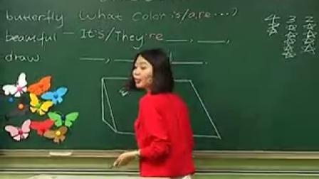 《Unit 10 Colors(L1)》优质课(北师大版英语二下,四川成都市泡桐树小学:李丽)