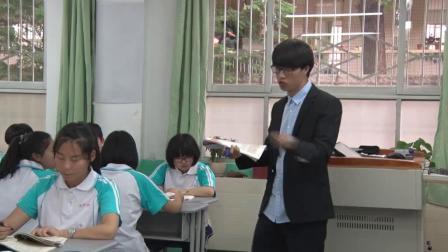 人教版必修四高一语文《念奴娇·赤壁怀古》课堂教学视频实录-商洛:章超