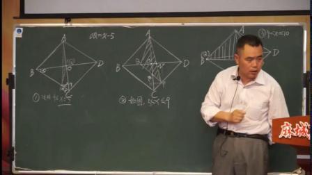 人教2011课标版数学九下-复习课《动点问题分析》教学视频实录-陶月电