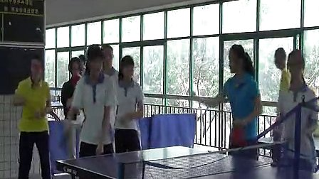 《乒乓球正手攻球》高一体育深圳中学刘子静