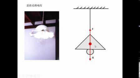 人教2011课标版物理 八下-8.2《二力平衡》教学视频实录-付丹