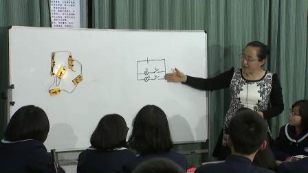 华师大版科学八下4.2《电路》课堂教学视频实录-张静静