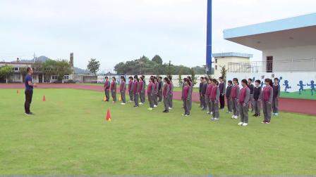 人教版体育八年级《耐久跑》课堂教学视频实录-傅强