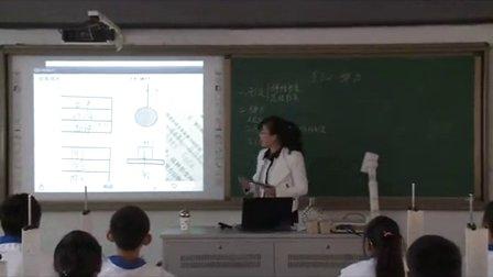 2015年江苏省高中物理优课评比《弹力》教学视频,申庭庭