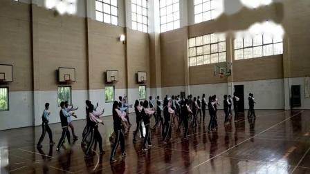 人教版体育八年级《武术健身拳》课堂教学视频实录-潘敏臻