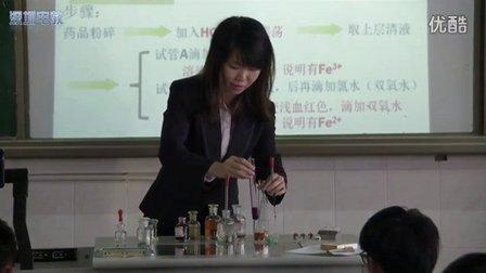 深圳2015优质课《Fe2+和Fe3+的检验与相互转化》鲁教版高三化学,平湖外国语学校:张恺殷