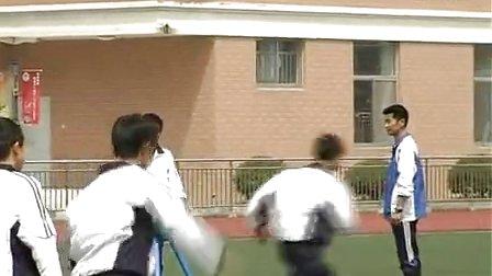 初二体操体育教学视频《分腿腾越》体育名师工作室教学视频