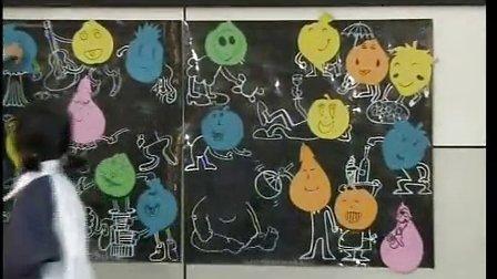 浙美版小学美术一年级《卡通宝宝》优质课教学视频