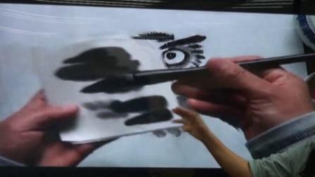 小学美术人美版四下《第5课 中国画——学画猫头鹰》北京王爱平