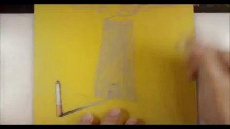 初二美术《创意图形绘海报》教学视频-广东-李健芳-2014年全国中小学美术培训示范课视频
