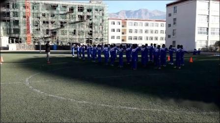 《足球射门训练》人教版初一体育与健康,索朗平措