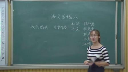 《我的发现-日积月累》人教版小学语文四下课堂实录-天津_静海区-魏培培