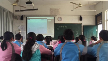 华师大版科学八上6.1《构成物质的微粒》课堂实录教学视频-王丽凤