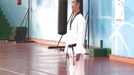 跆拳道品势教学初中八年级体育龙岗区实验学校刘文展
