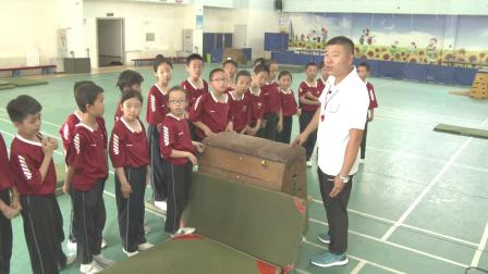 《跳上跪撑跪跳下科学版四年级体育,姜海