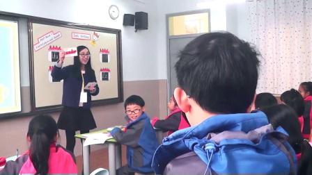 人教版英语三上第六单元《Letter sand sounds》课堂教学视频实录-施宵宵