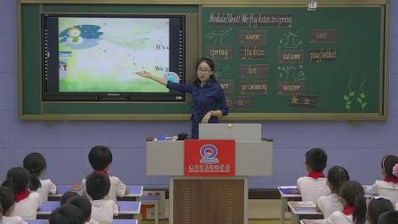 外研版(三起)小学英语三下Module7  Unit 1 We fly kites in spring.河南史鹏云