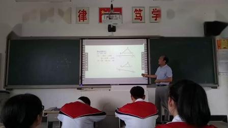 人教2011课标版数学九下-27.2《相似三角形》教学视频实录-汪飚