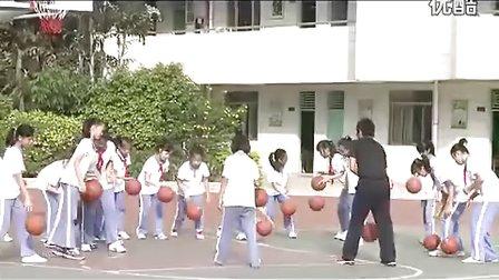 小学六年级体育:快乐篮球教学视频朱意清