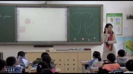 2015年《Unit 8 Apples,please》小学英语深港版一上教学视频-深圳-楼村小学:刘红亮