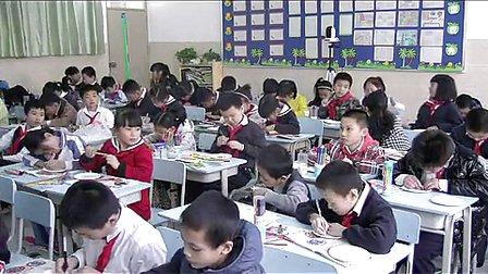 《漂亮的挂盘》小学四年级美术人民小学薛梅