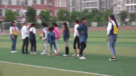 《穿梭跳长绳》优质课(科学版六年级体育,安徽省市级优课)