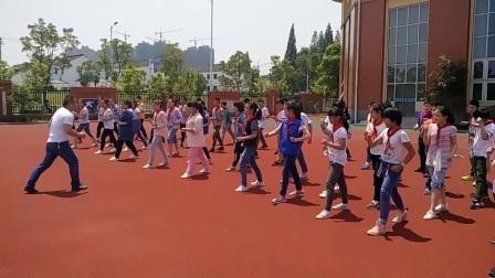 《50米快速跑》优质课(六年级体育,江苏镇江)
