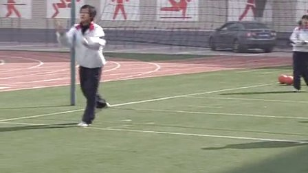 陕西省示范优质课《排球:双手正面垫球2-2》高一体育,西安市89中:周剑