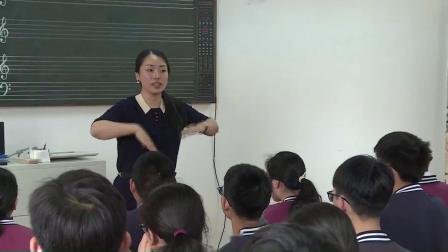 人音版八下《深情》课堂教学视频实录-许珊珊