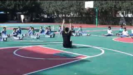《立定跳远》四年级体育,王竹飞