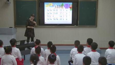 湘教版一年级音乐演唱《火车来啦郊游》教学视频