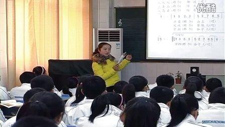 人音版七年级音乐《沂蒙山小调》安徽黄维丽