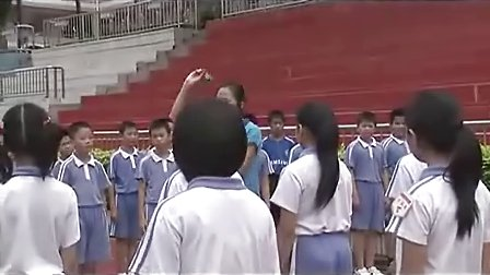 快乐的小投手、勇敢的小战士_小学六年级体育视频